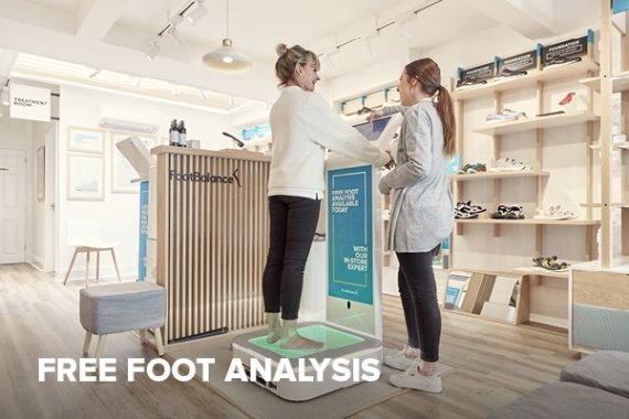 Free Foot Analysis in all FootBalance Stores