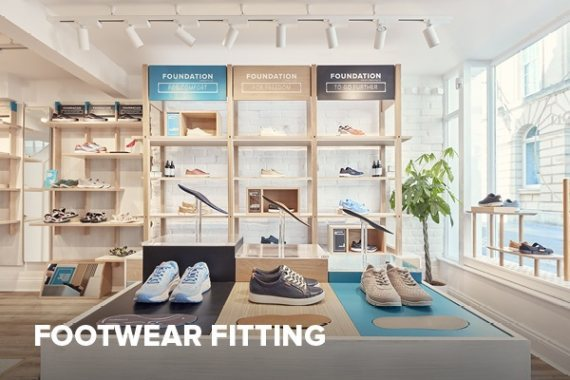 Footwear fitting service in all FootBalance stores