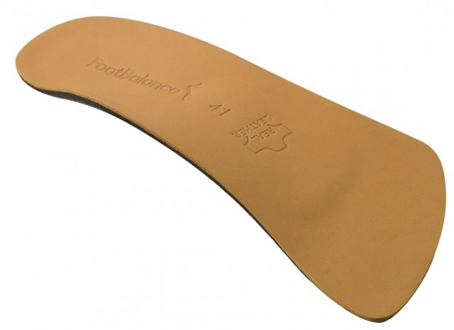 FootBalance Footbalance 100% Custom Leather Insole 3/4 Length