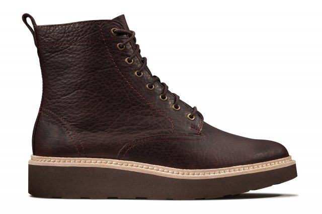 /'Ladies Clarks/' Ankle Boots Hope Track