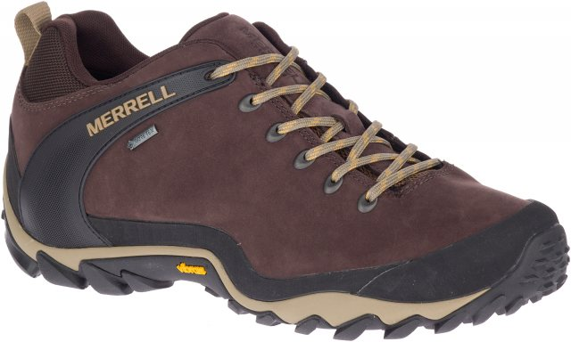 Merrell Chameleon 8 Leather Low GORE-TEX Mens