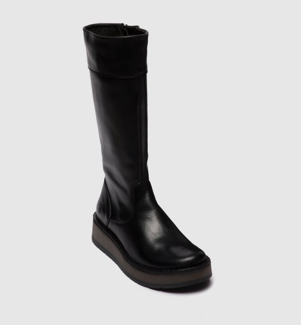 Fly London Ripa Ladies Black Boots